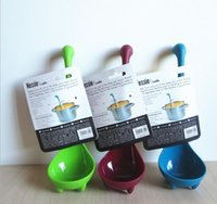 Wholesale Nessie Ladle Vertical Long Handle Plastic Spoon Dinosaurios Loch Ness Monster Nessie Spoons Cucharas Largas Louche De Cuisine hot