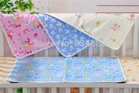 Wholesale 1PC Baby Infant Travel Home Pure Cotton Diapers Mat Baby Changing Mat Cover Waterproof Pad x75cm Large Size