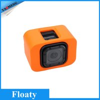 NEOpine action orange - For Gopro Session Floaty Backdoor Cover Accessories Yellow Blue Black Orange For Sport Action Camera DV For Gopro Hero Session