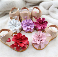 Summer angels sandal - angel baby toddler shoes flower children beach sandals Yards summer princess outdoor shoes kids shoes pairs TP