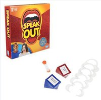 Wholesale Speak Out Game Best Selling Board Game Interesting Party Game for christmas for hallowmas Of with high quality and fast shippment AA