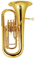 Wholesale Bb Three Piston Euphonium with Foambody case days shipping time Brass Musical instruments