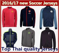 best mens coat - Mixed Order new best quality mens coat Arsenal MancHester Chelsea UnITED Liverpooles Manchester City Soccer coat portswear jersey