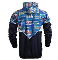 Wholesale Hot Sale New Man Spring Autumn Hoodie Jacket Brand men Sportswear Clothes Windbreaker outdoor sport Coats sweatshirt