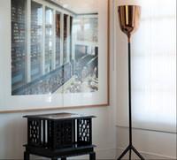 Wholesale Copacabana Trophy Floor Lamp Light Creative Iron Floor Lamp Modern Simple Bedroom Long Arm Floor Lamp Standing Lights