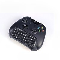 Wholesale High Quality g Mini wireless controller Text Messenger Keyboard Chatpad Keypad For Microsoft xbox one gameing controllesr Black