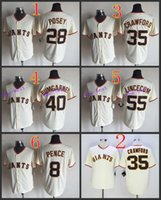 best buster - San Francisco Giants buster posey2015 Baseball Cool Base Jersey Best quality Authentic Jerseys Embroidery Logo Size M XL Mix Order