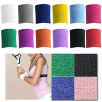 Wholesale Towel Bracers The basketball sports activities of cotton towel protect the wrist exercise wipe sweat ventilation Bracers towel Wristband