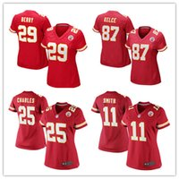 alex pink - Women s KansasCity football jerseys Cheap Chiefs Travis Kelce Eric Berry Alex Smith Jamaal Charles Red authentic shirt