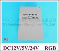 Wholesale RGB LED controller for RGB LED strips bars LED module LED pixel and other lightings DC12V DC5V DC24V W rainproof