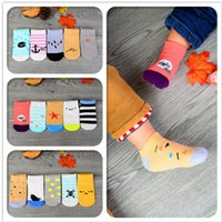 baby boy boat - Baby Kids Cotton Socks Spring Summer Autumn Anti Slip Boat Socks Years Old Girls Boy Socks Walking Children Socks Clothing Styles