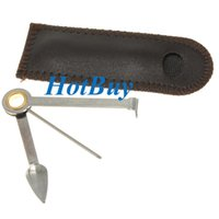 bag cutters - 3 in Cigar Cutter Pipe Stainless Steel Cleaner Cleaning Tool Reamers Tamper With Bag