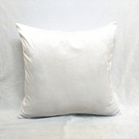 Wholesale DIY Blank Pillow Cover Square Throw Pillow Back Cushion Cases for Print White Pillow Cases by DHL