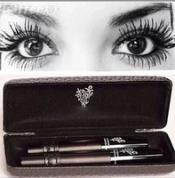 Wholesale Hot brand Mascara better than Younique d Mascara Fiber lashes Waterproof double mascara Eyelashes Grower Makeup Set