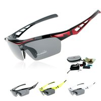 Wholesale EOC Professional Polarized Cycling Glasses Bike Goggles Outdoor Sports Sunglasses Driving Fishing Eyewear UV With Lens