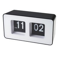 auto work table - Classic Retro Auto Flip Digital Clock Wall Desk Table Stylish Modern Work Home
