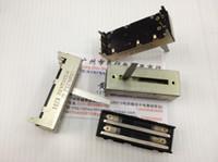 Wholesale mm slide pusher duplex potentiometer A50K straight