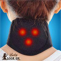 Wholesale 3000PCS MMA22 Neck Self Heat Brace Neck Support Neck Strap Tourmaline Self Heating Magnetic Therapy Neck Wrap Belt