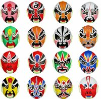 Halloween masks china opera - China Beijing opera mask style variety of low quality and high quality of the purchase price of a piece of more than the purchase price con