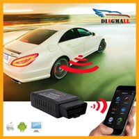 Wholesale New Version Diagmall ELM327 Wifi Wireless Scanner Auto OBD2 Diagnostic Tool ELM WIFI OBDII Scanner For Android IOS