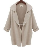 Long White Sweater Trench Online | Long White Sweater Trench for
