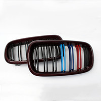 Wholesale P style Two Tone Carbon Front Grille Pair Fit For BMW F15 F16 X5 X6