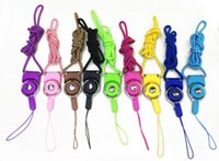 Wholesale 100 Universal Detachable Necklace Lanyard Hand Straps Phone Ropes With Rotatable Lock for ipad Cell Phone MP3 MP4 Camera ID Card