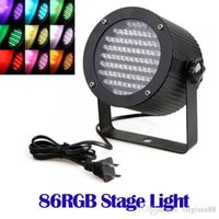Wholesale US Plug RGB LED Light DMX Lighting Laser Projector Stage Party Show Disco