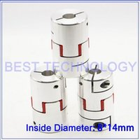 Wholesale Diameter mm Length mm mm to mm Flexible Jaw Spider Plum Coupling CNC Starter Shaft Coupler Connector