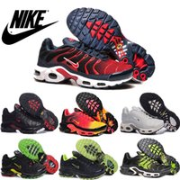 imported fabric - Nike Air Max TN Men s Running Shoes Cheap Original Imported Leather Top Quality Nike TN Air Max Sneakers