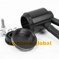 Wholesale Black CNC Clutch Brake Pump Fluid Tank Reservoir Oil Cup Universal for Honda Yamaha Kawasaki Suzuki Aprilia Ducati Triumph
