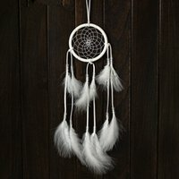 Wholesale Circle Dream Catcher with Feathers Wall Hanging Decoration Ornament for Car or Wall Hanging