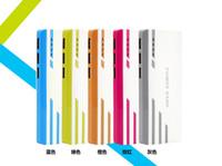 achat en gros de nouveau téléphone samsung s6-Nouveau style Romoss 20000mAh banque de puissance 3USB batterie externe avec LED Portable Power Banks chargeur pour iPhone 6s Samsung s6 téléphones