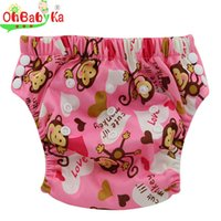 bamboo training pants - Ohbabyka Bamboo Cloth Diaper Labs Pants Wasbare Luier Nappies Prefold Diapers Colors Pattern Baby Washable Panties Girl Boy
