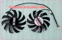 amd stock cooler - NEW original Firstd FD7010H12S mm Video Card Dual Fan mm V A Wire Pin for Sapphire AMD Dual X HD6950 HD7790 HD7850