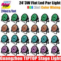 Wholesale TIPTOP XLOT ADJ Products MEGA FLAT TRI PAK Bright Tri Colored LED American DJ Mega TriPar Profile X3W RGB LEDS Freeshipping