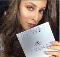 best powder bronzer - 2016 best Anas Glow Kit Glow and Gleam Powder ABH Contour Kit Bronzer Highlighter Powder Face Makeup Kit Cosmetic free DHL