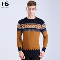 argyle cashmere sweater - New Arrival Fashion Sweater Mens O Neck Pull Homme Casual Argyle Shirt Dress Wool Cashmere Pullover Men Brand Clothing