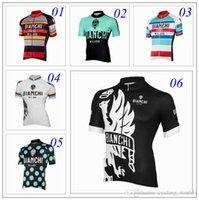 bianchi touring bicycles - 2016 Tour De France Bianchi Cycling Tops Cycling Jerseys Short Sleeve Top Class Lycra Bicycle Clothing For Men Blue Black Red XS XL