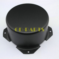 audio amplifier case - 1PC mm Black Round Transformer Protect Case Cover DIY Hifi Audio Tube Amps tube sound transformer coupled