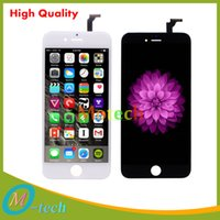 Wholesale LCD Display Touch Digitizer Complete Screen with Frame Full Assembly Replacement for iPhone6 iphone inch cheap price