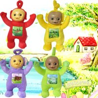 baby gifts export - 33cm Teletubbies Baby toys plush Dolls D Export US toy for Kids Christmas gifts Children gift TV Doll