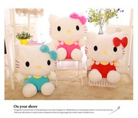 Wholesale 18 Cm Fashon Cute Japanese Hello Kitty Cat Huge Plush Soft Toy Stuffed Animal Doll Mini