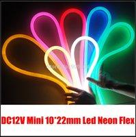 Wholesale meters Mini V led neon for lighting solution DIY shopping mall lighting decoration neon