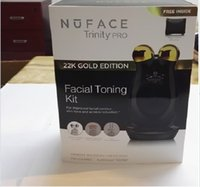 Wholesale uFACE Trinity Facial Trainer Kit K Gold Holiday Limited Edition Facial Toning Anti Aging Skin Care Treatment Device Facial Massager Devic