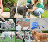 bath accessories tray - Hot Sell Woof Dog Washer Degree Bath Shower Washer Pet Cleaner Dog Accessories clean up products