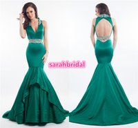 beauty drops yellows - 2016 Miss USA World Teen Adult Beauty Pageant Dresses Custom Made Sexy Fit and Flare Skirt Long Full Length Emerald Green Evening Prom Gowns