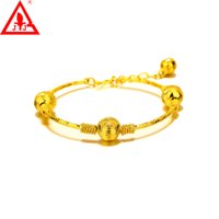 bezel bead - New Style Top Fashion Luxury Bracelet Bangles Alloy K Yellow Gold Plated Jewelry European Charm Bead alex and ani