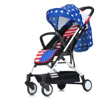 baby stroller systems - New Arrival Light Weight Baby Stroller Sit And Lie Down for Newborn Folding Baby Carriage Portable Travel System Pushchair