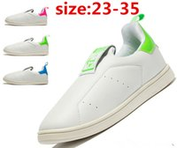 basketball tennis court - 2016 fashion children s stan smith white green shoes white slip on tennis shoe kids smith shoes size